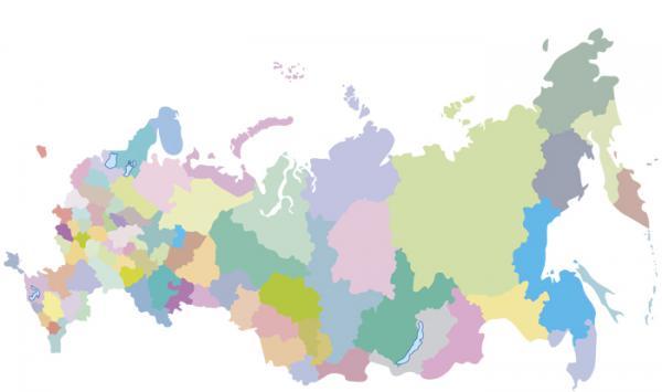 скачать в векторе карта россии - фото 6
